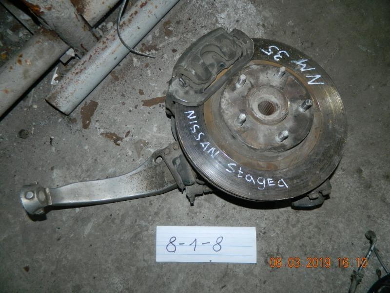 Ступица Nissan Stagea NM35 передняя правая (б/у)