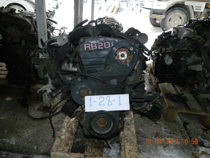 Двигатель Nissan Laurel RB20DE (б/у)