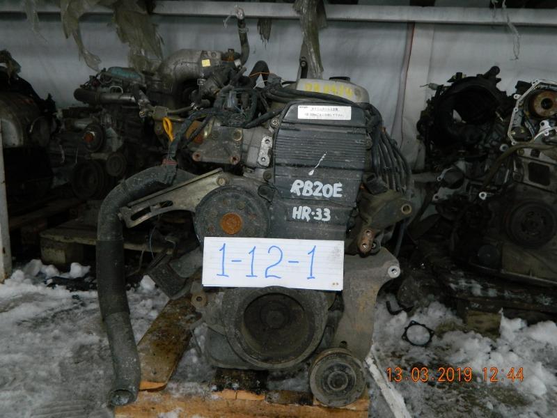 Двигатель Nissan Laurel C34 RB20DE (б/у)