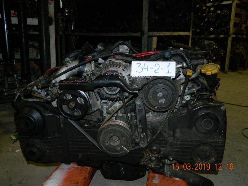 Двигатель Subaru Lancaster BH9 EJ254 (б/у)