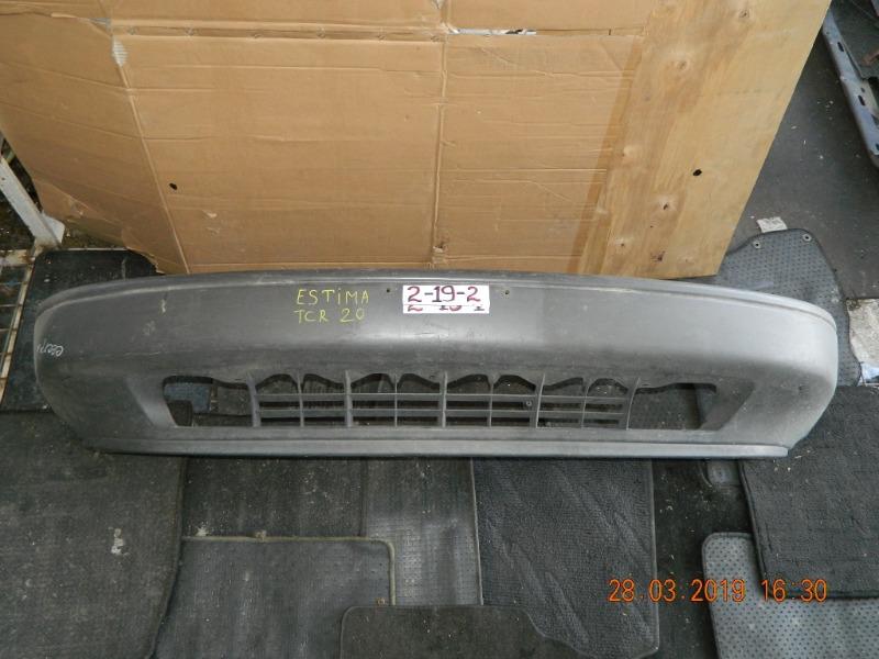 Бампер Toyota Estima Emina CXR20 передний (б/у)