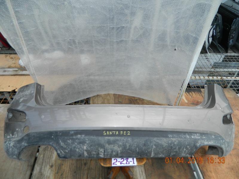 Бампер Hyundai Santa Fe задний (б/у)