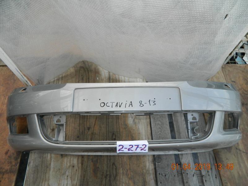 Бампер Skoda Octavia передний (б/у)