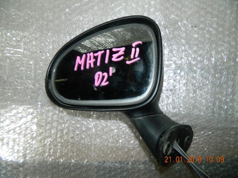 Зеркало Daewoo Matiz M100 левое (б/у)