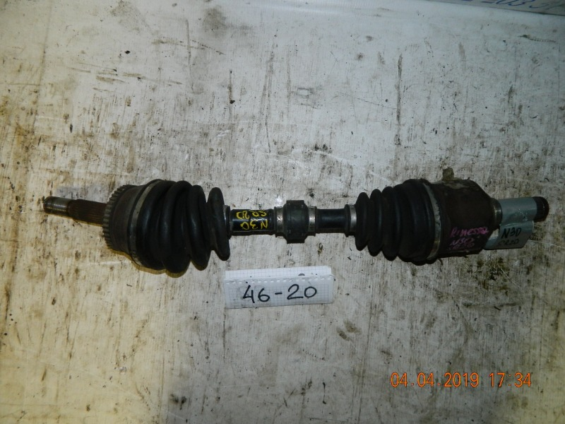 Привод Nissan Rnessa N30 SR20 передний левый (б/у)