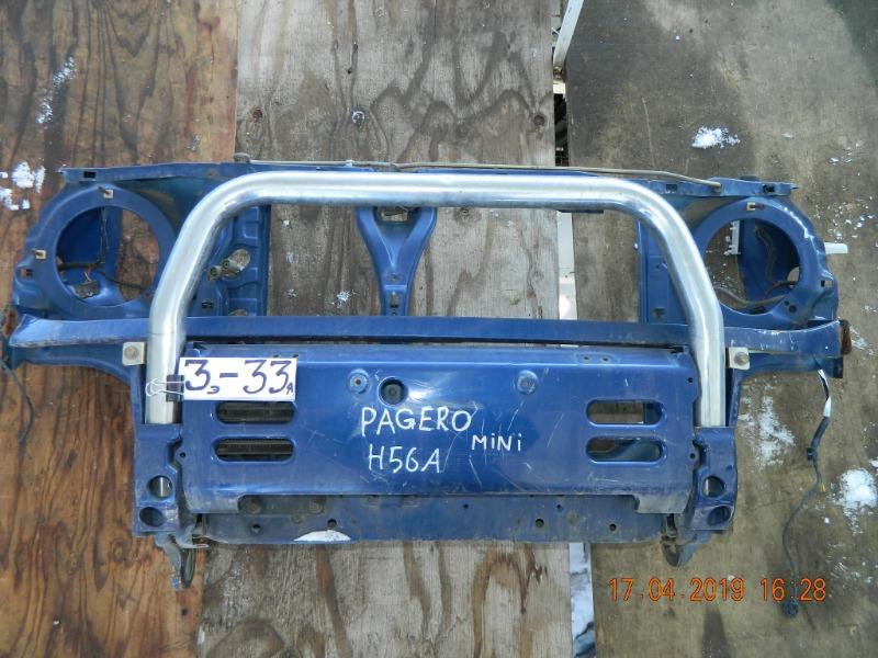 Рамка радиатора Mitsubishi Pajero Mini H56 (б/у)