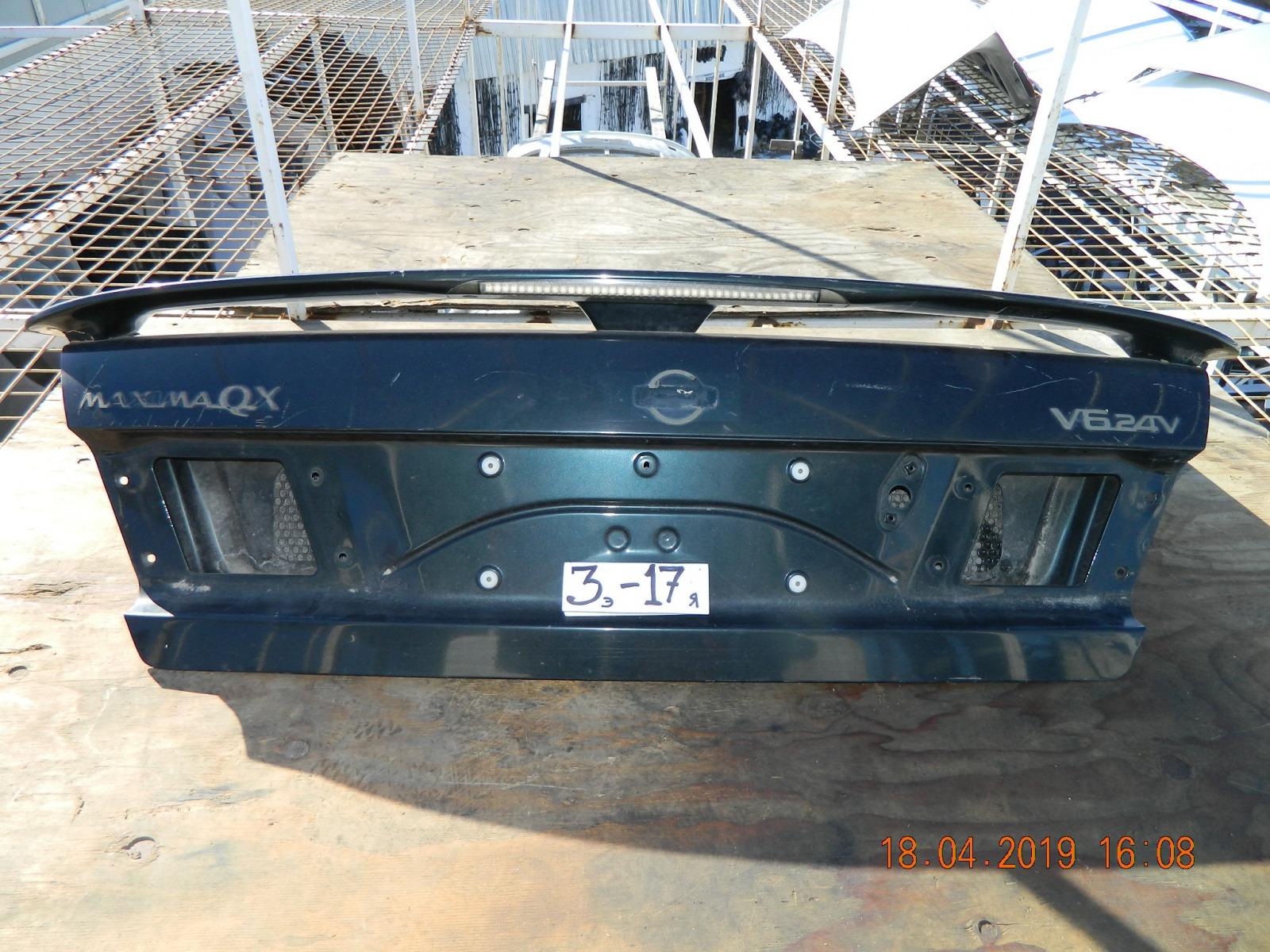 Крышка багажника Nissan Maxima A32 (б/у)