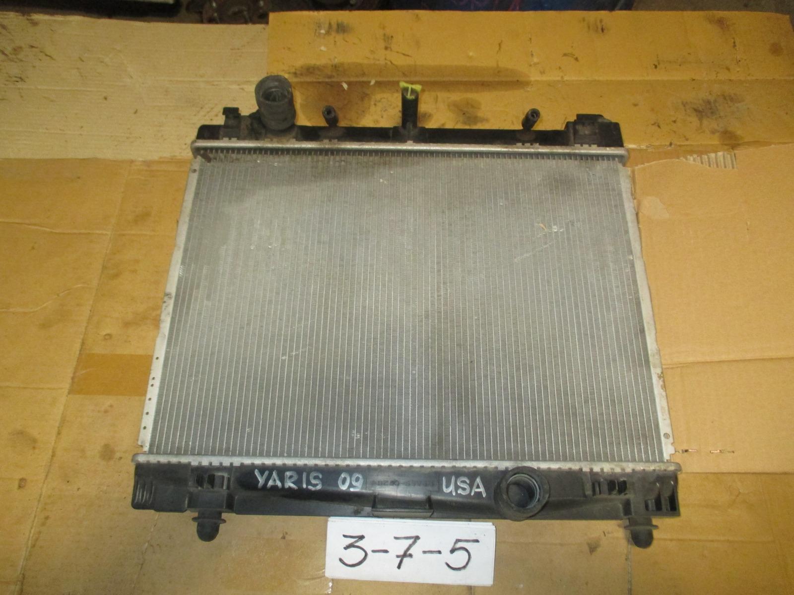 Радиатор двс Toyota Yaris (б/у)