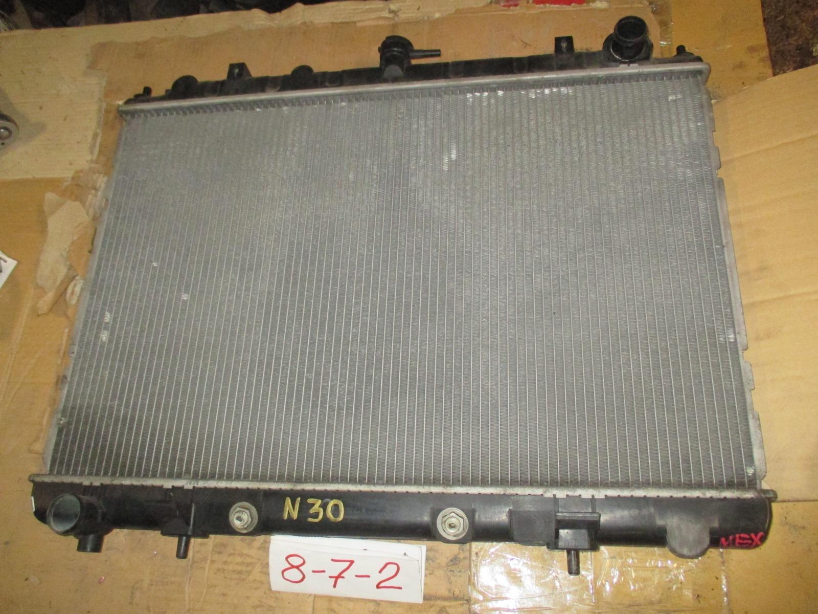 Радиатор двс Nissan Rnessa N30 (б/у)