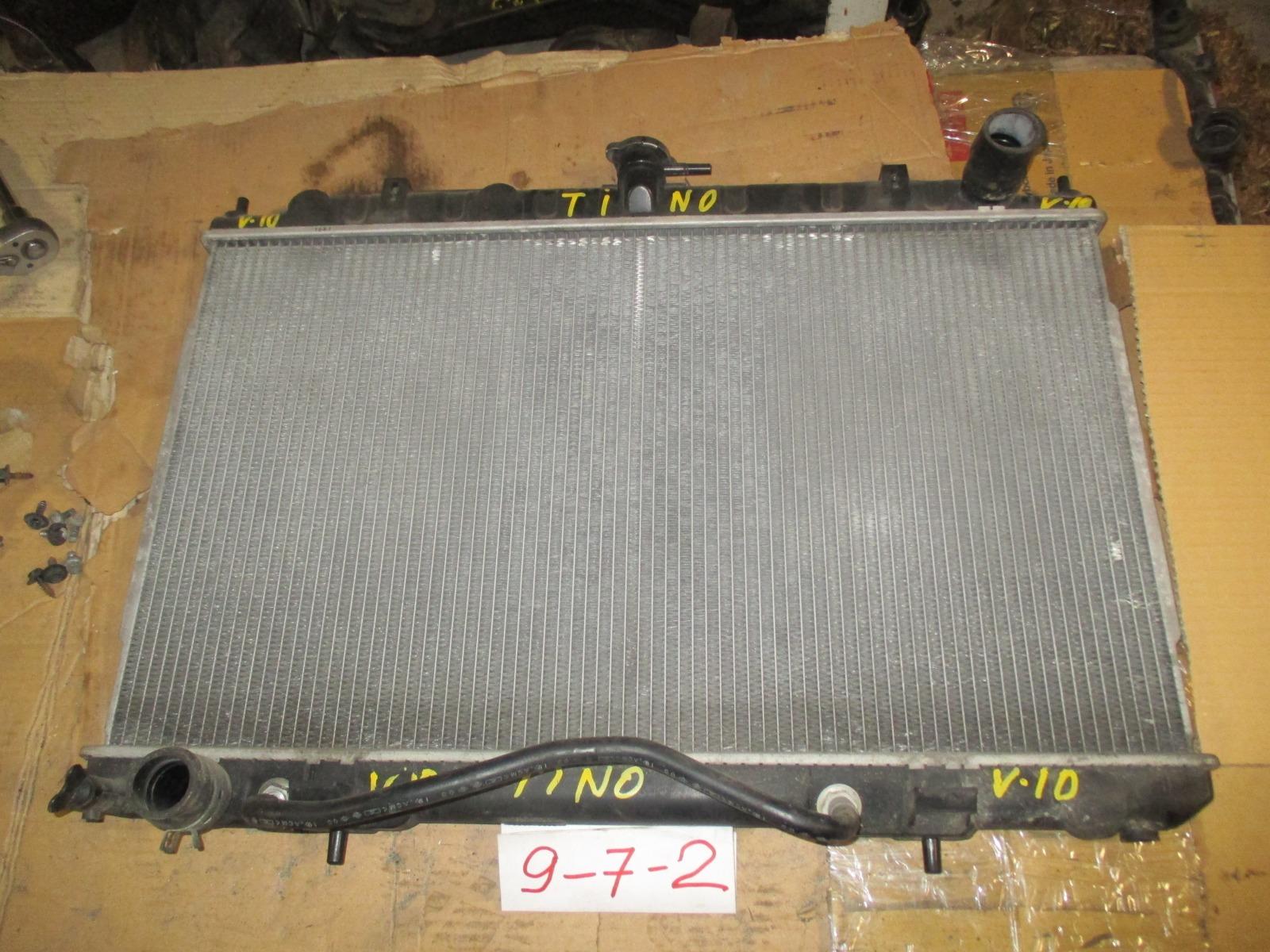 Радиатор двс Nissan Tino PV10 (б/у)