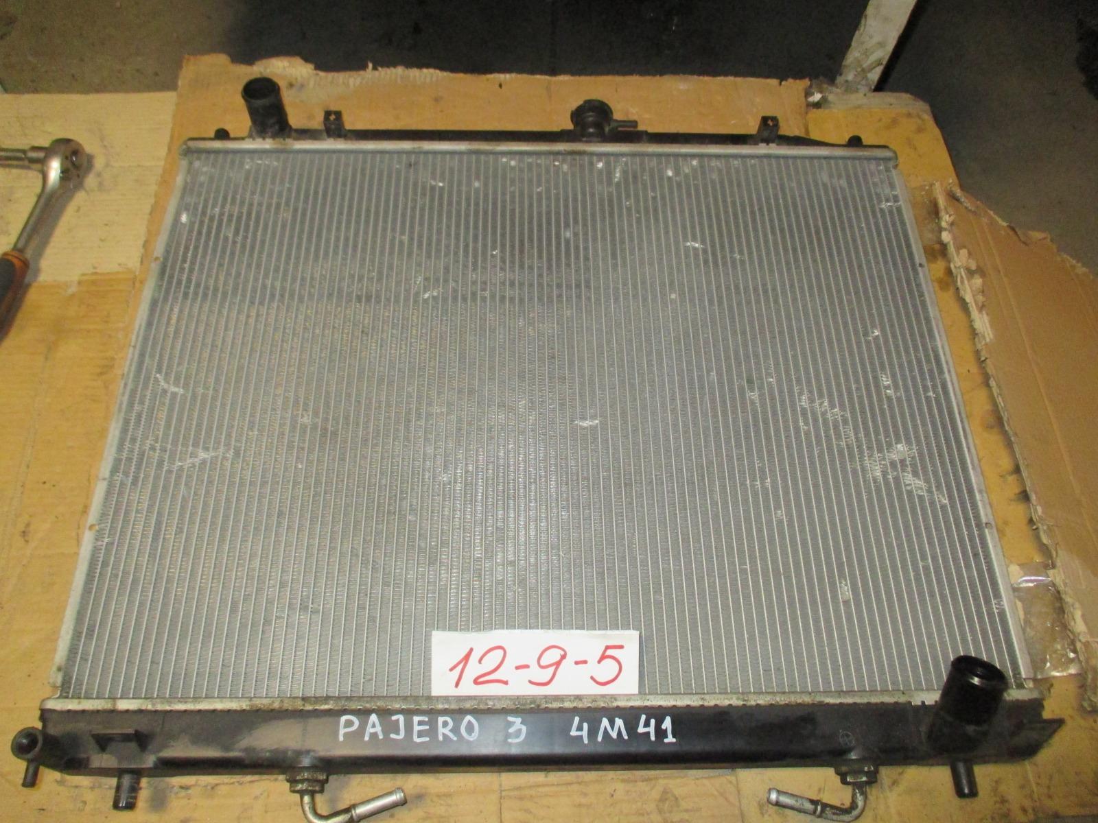 Радиатор двс Mitsubishi Pajero/montero V78W 4M41 (б/у)