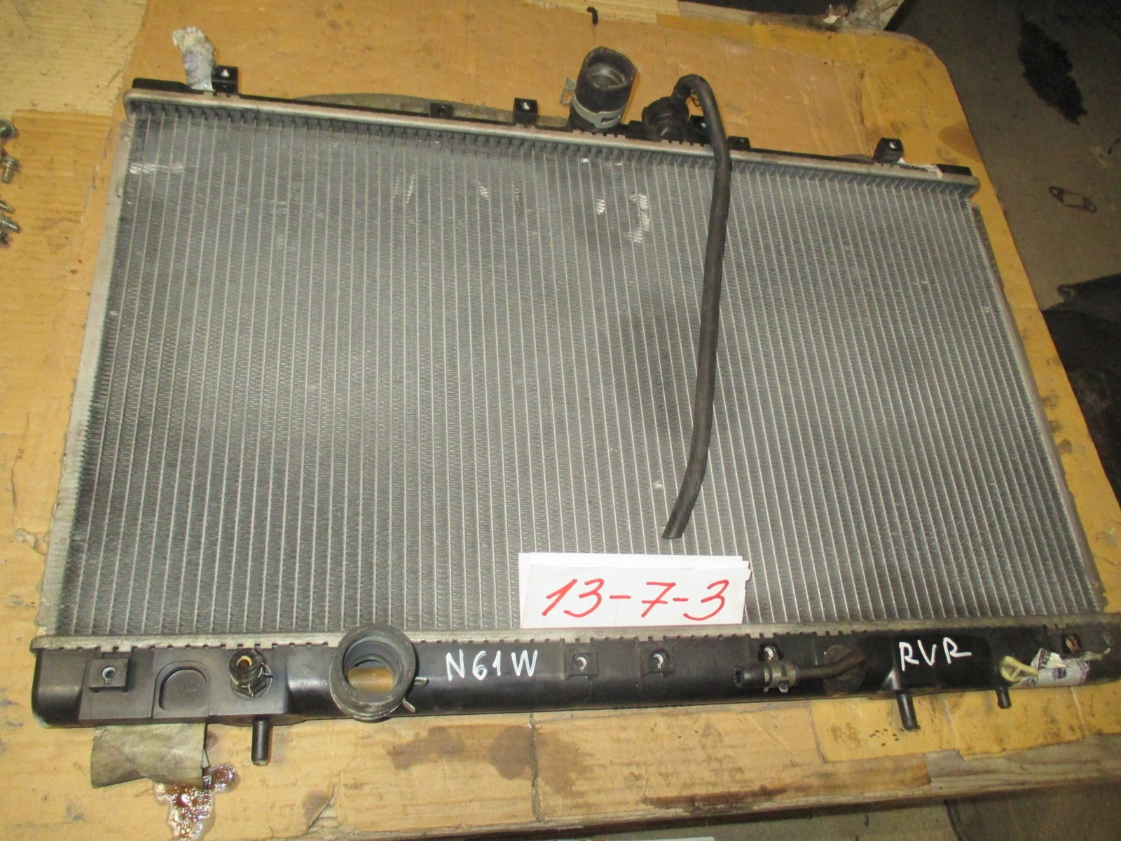 Радиатор двс Mitsubishi Chariot Grandis N61W (б/у)