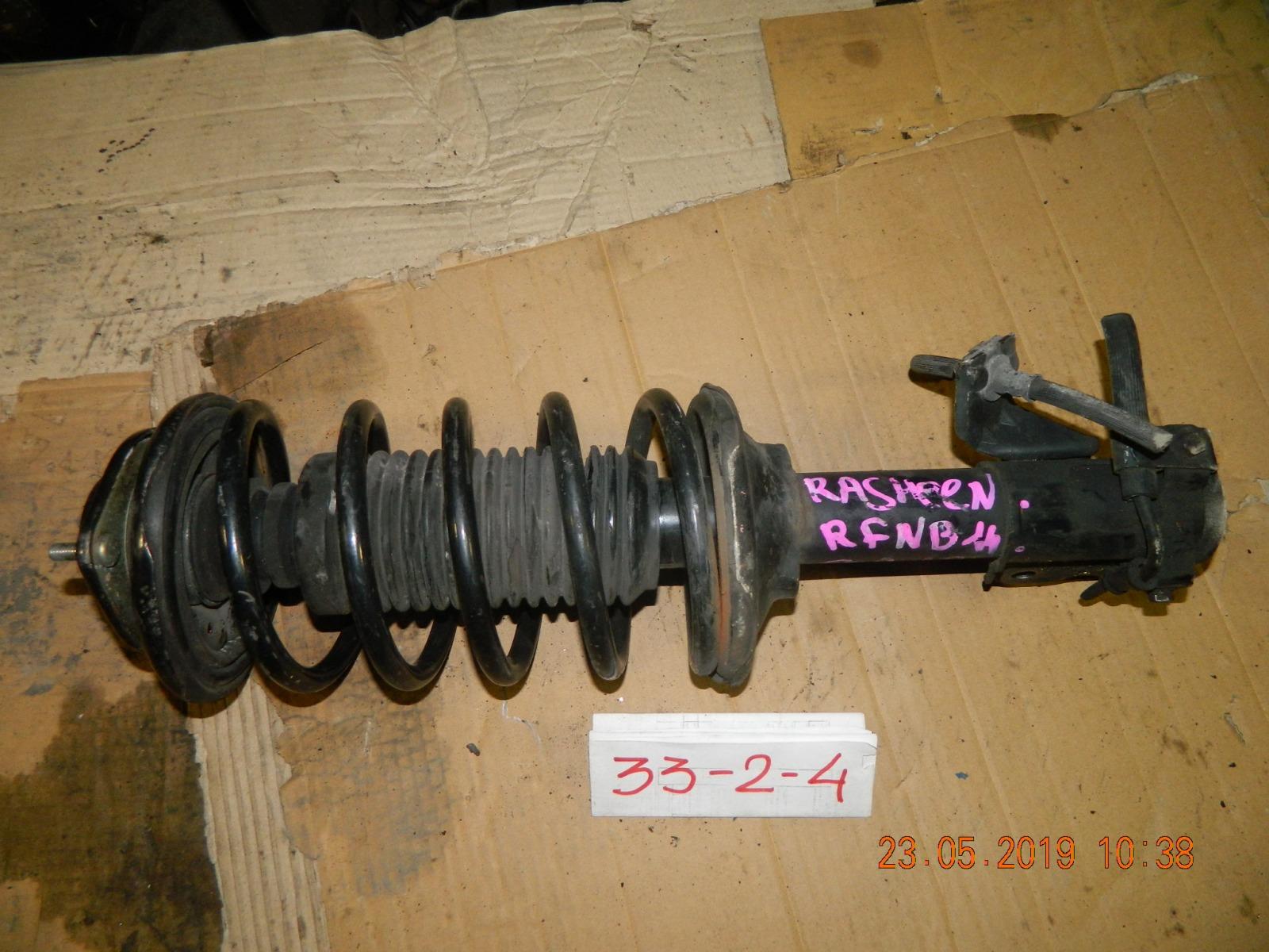 Стойка подвески Nissan Rasheen RFNB14 передняя (б/у)
