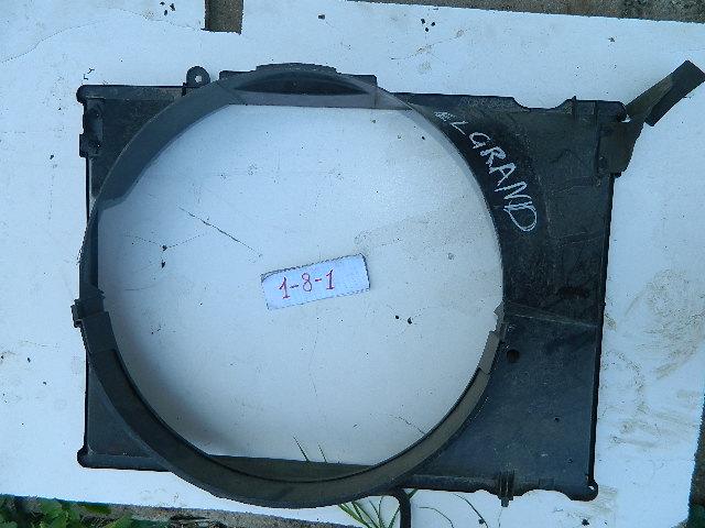 Диффузор радиатора Nissan Elgrand ALE50 (б/у)
