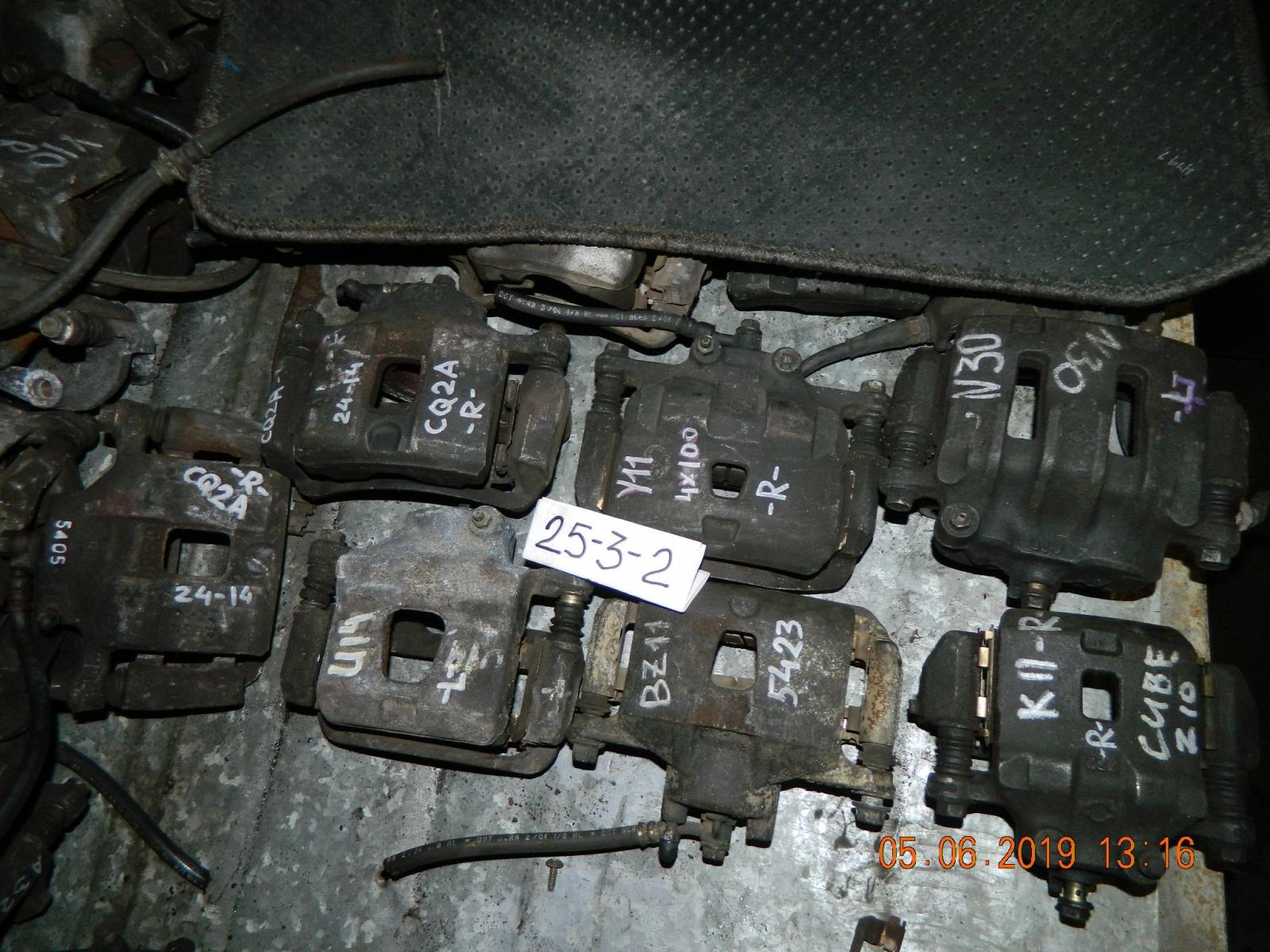 Суппорт Nissan Rnessa передний левый (б/у)