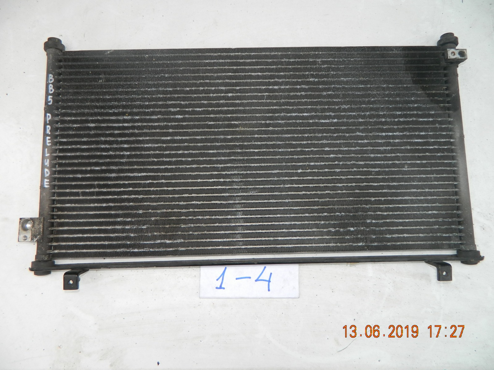 Радиатор кондиционера Honda Prelude BB5 (б/у)
