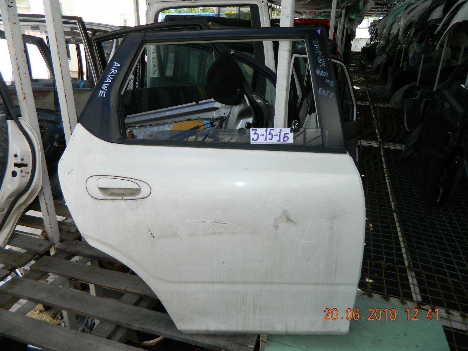 Дверь Honda Airwave GJ1 задняя правая (б/у)