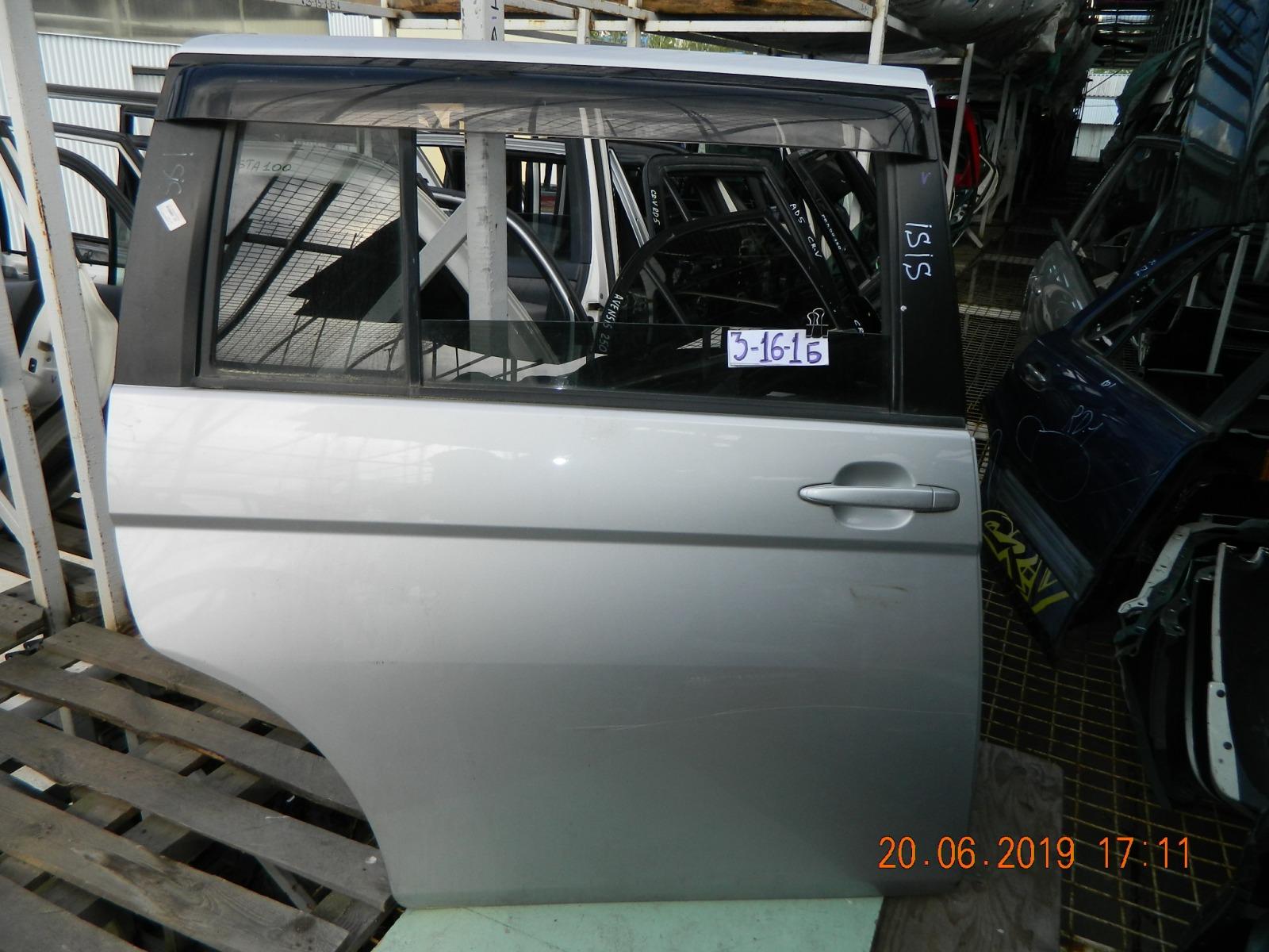 Дверь Toyota Isis ANM10 задняя правая (б/у)