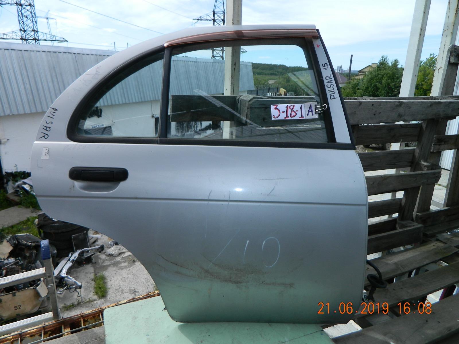 Дверь Nissan Pulsar FN15 задняя правая (б/у)