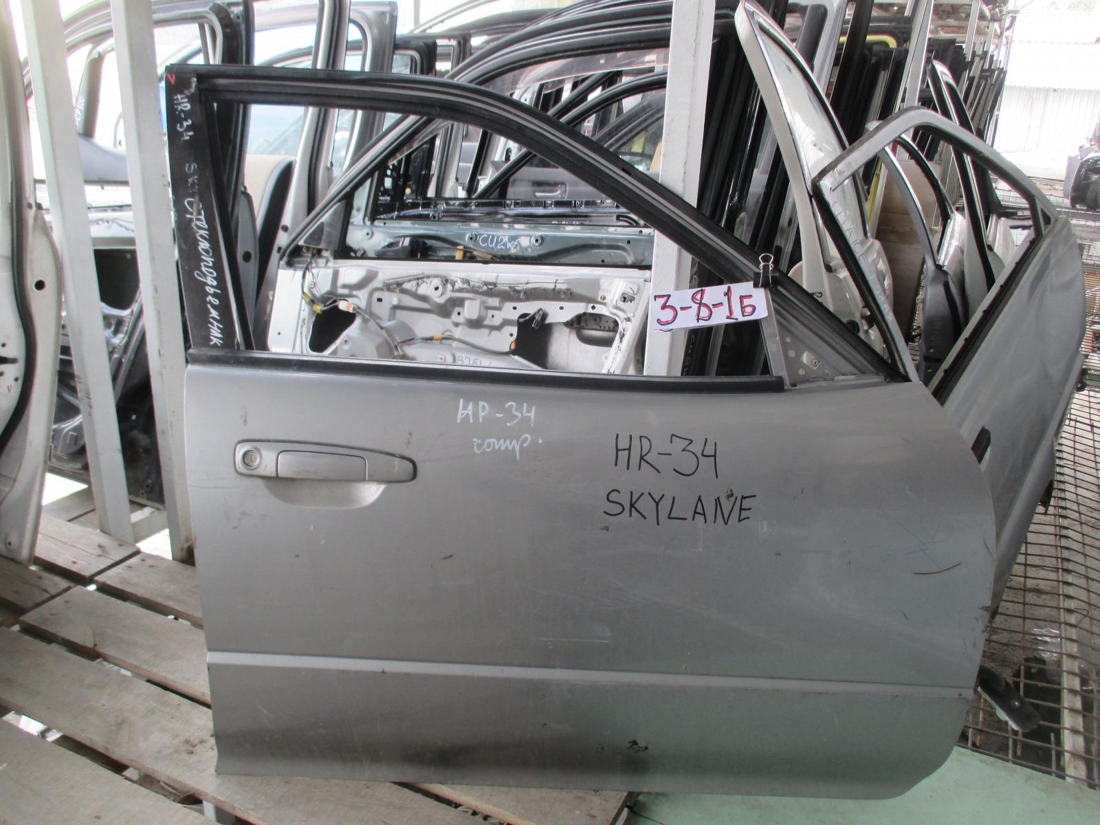 Дверь Nissan Skyline ENR34 передняя правая (б/у)