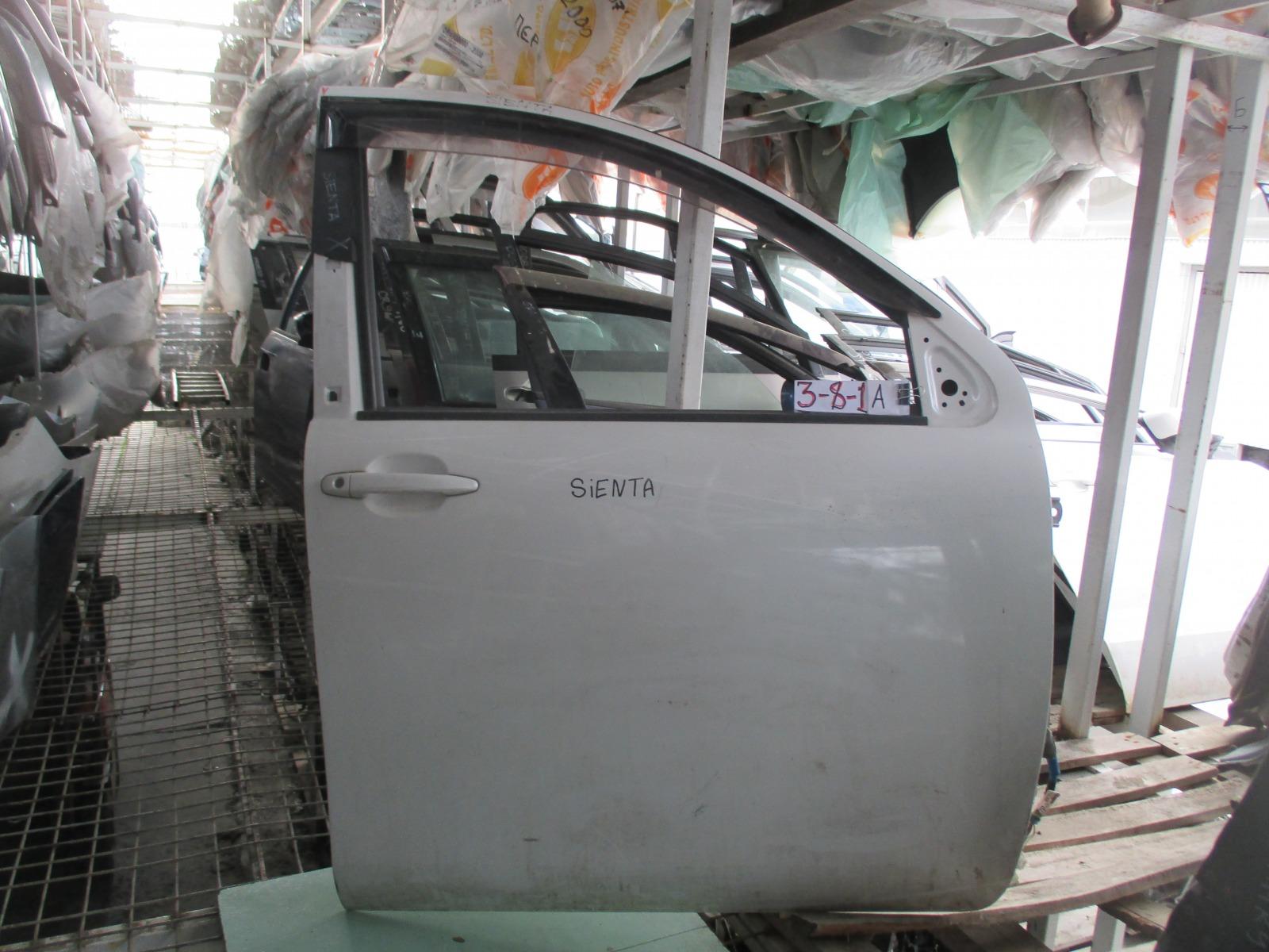 Дверь Toyota Sienta NCP81 передняя правая (б/у)