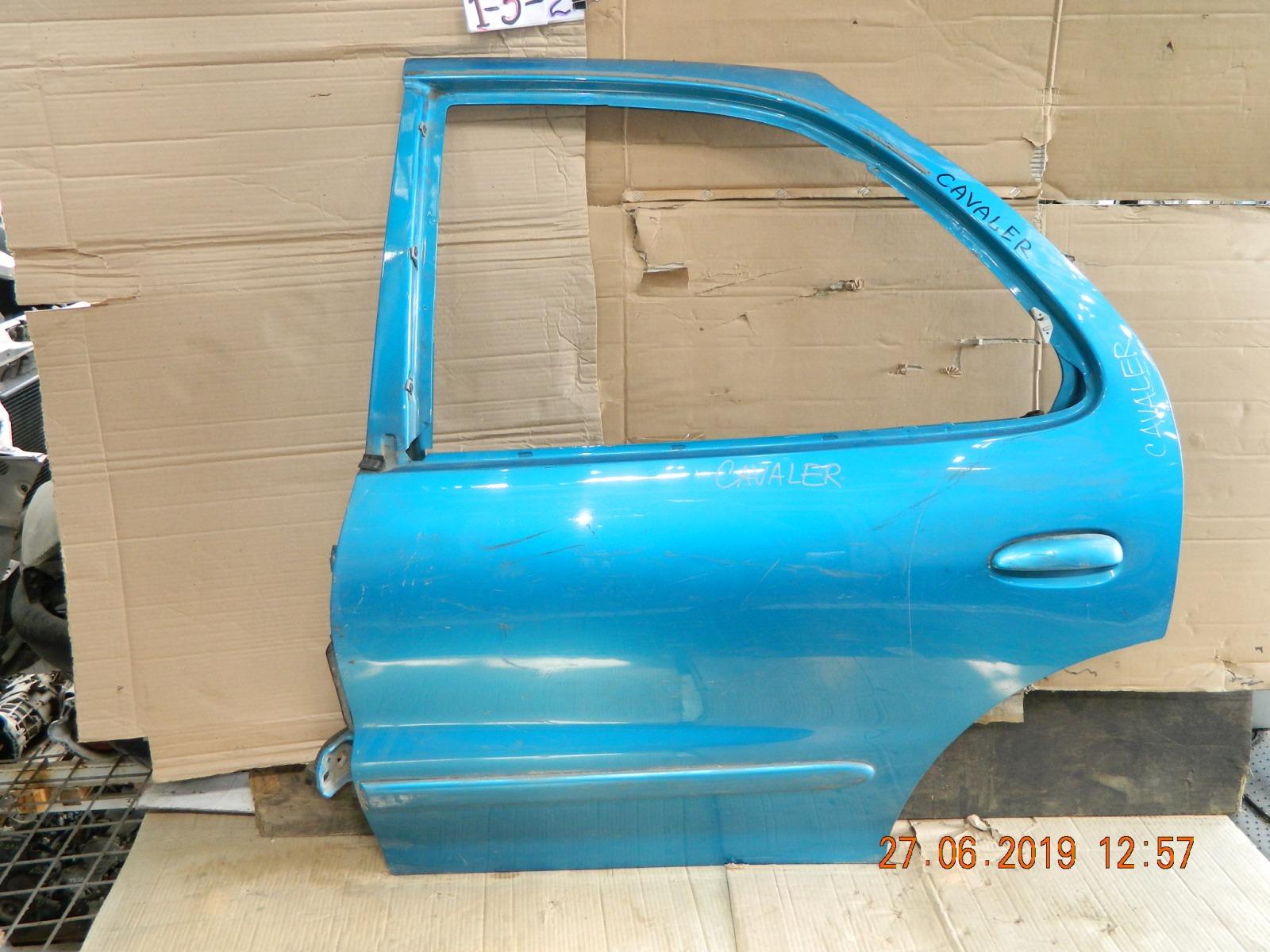 Дверь Toyota Cavalier T2 задняя левая (б/у)