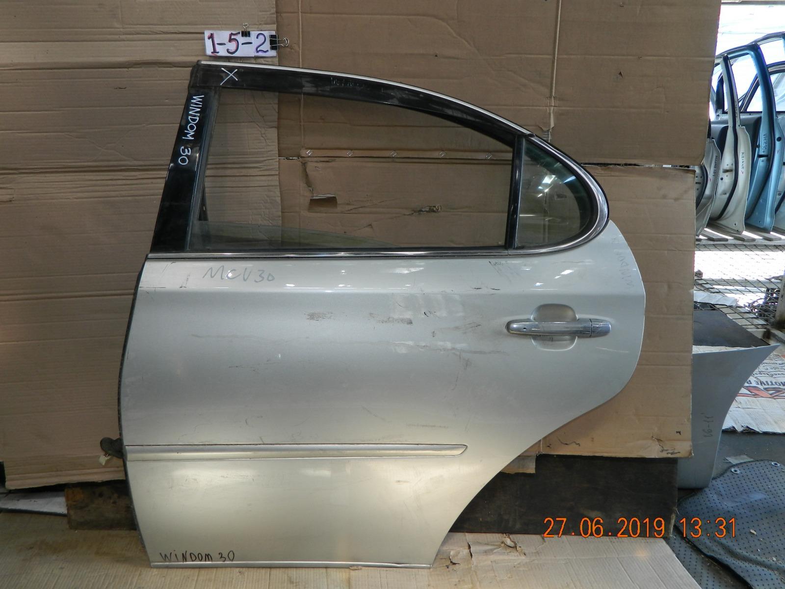 Дверь Toyota Windom 30 задняя левая (б/у)