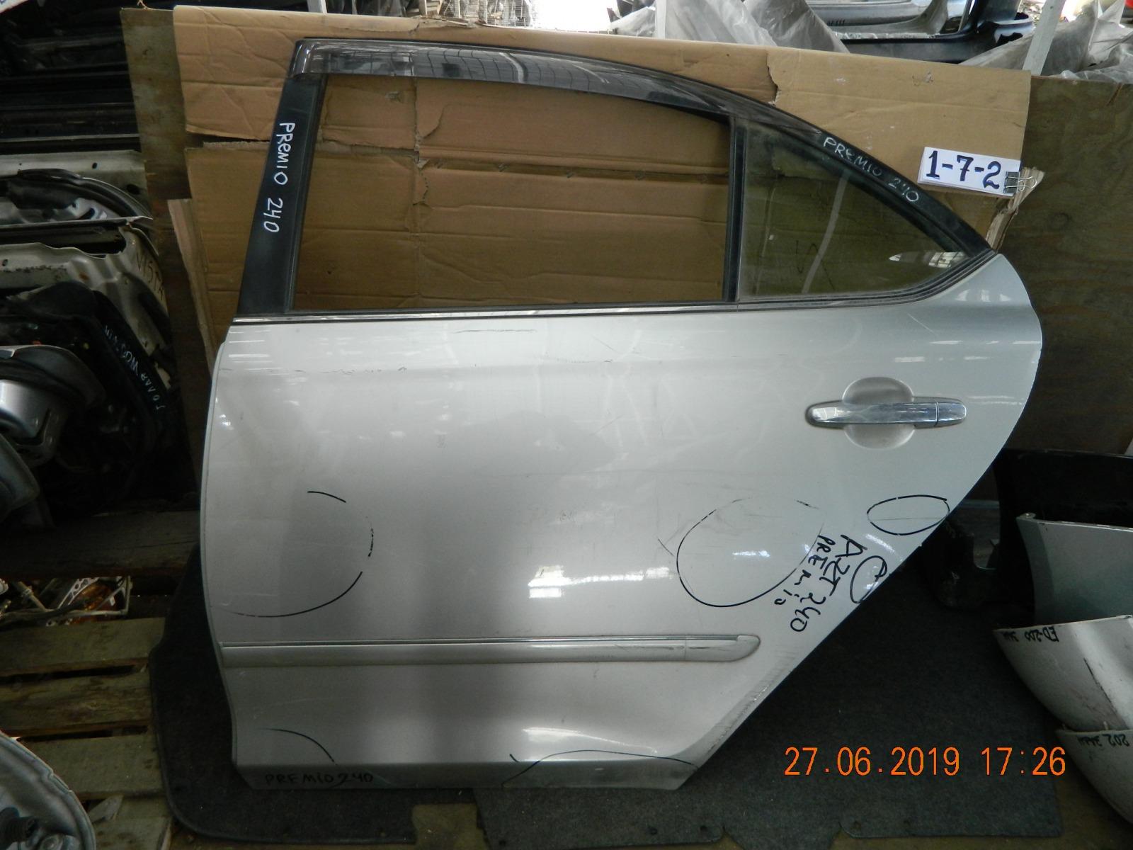 Дверь Toyota Corona Premio AZT240 задняя левая (б/у)