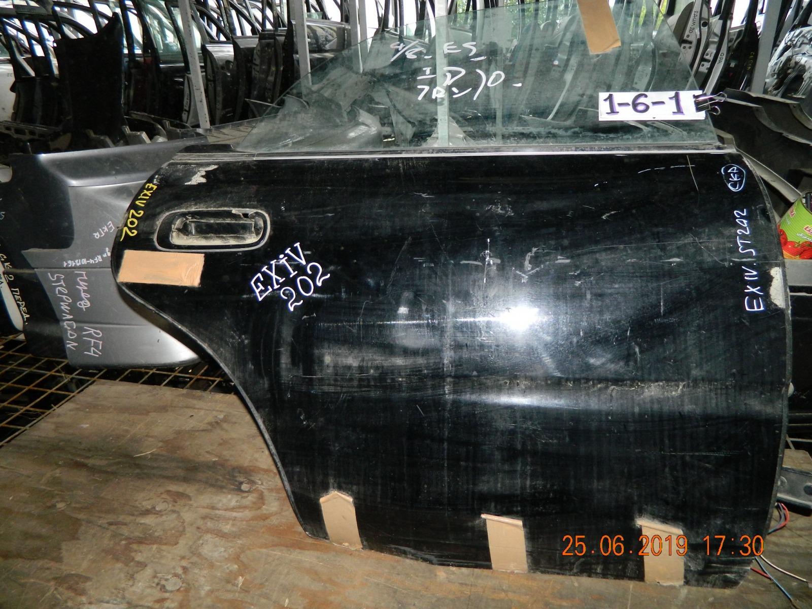 Дверь Toyota Corona Exiv ST202 задняя правая (б/у)