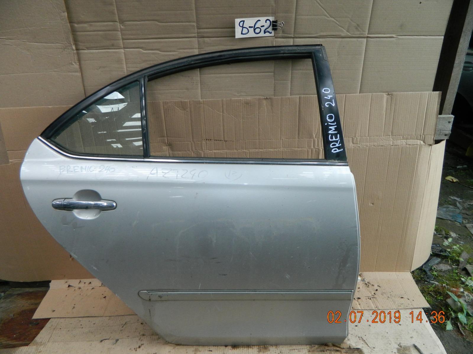 Дверь Toyota Corona Premio AZT240 задняя правая (б/у)