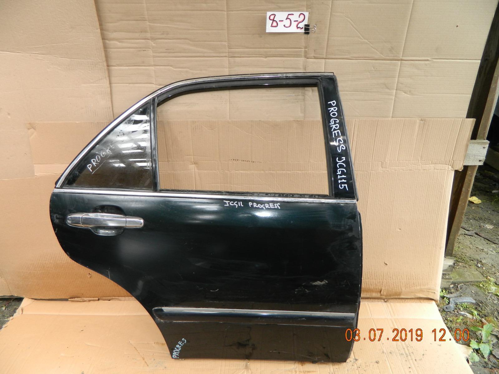 Дверь Toyota Progres JCG10 задняя правая (б/у)