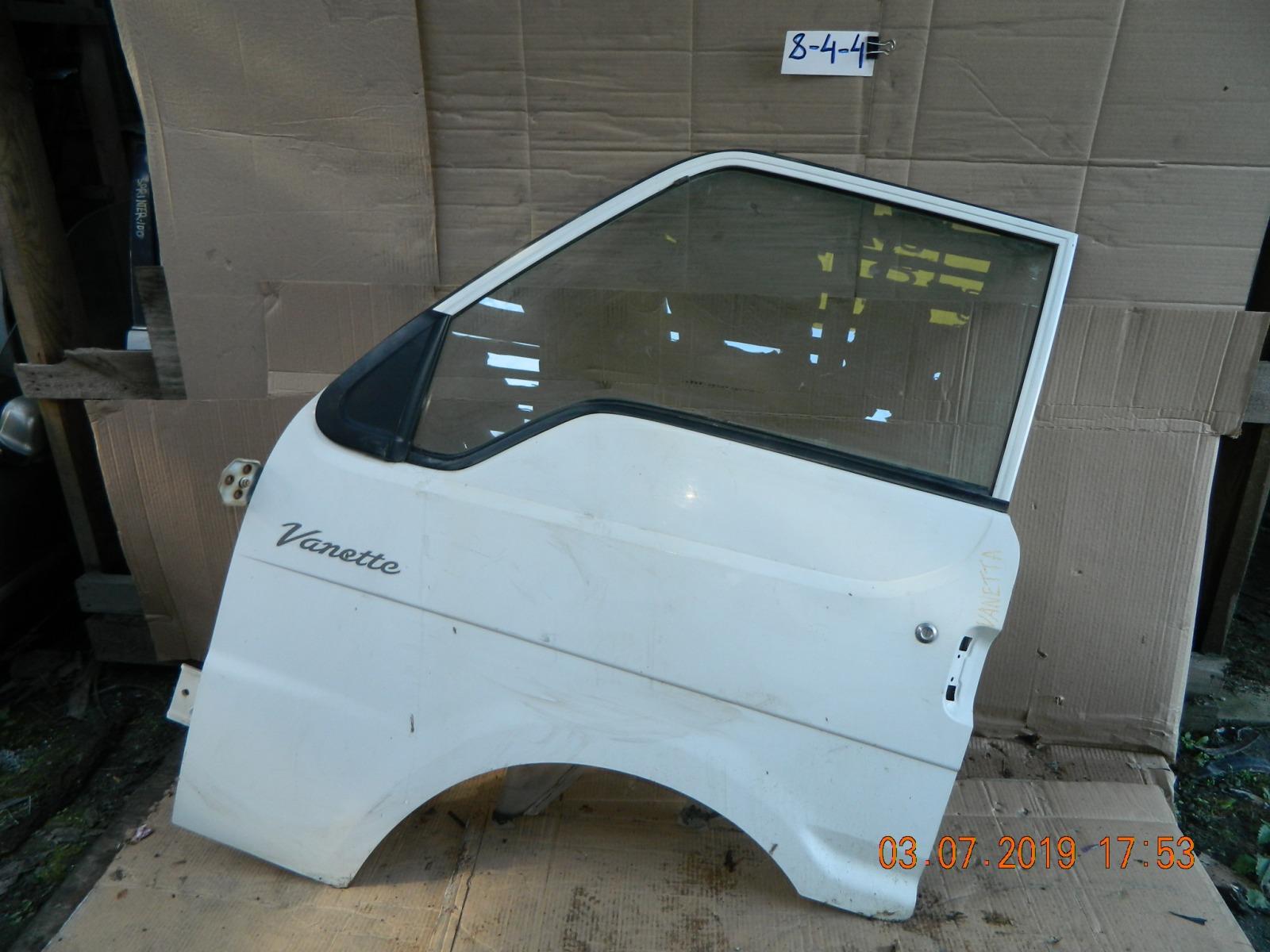 Дверь Nissan Vanette передняя левая (б/у)