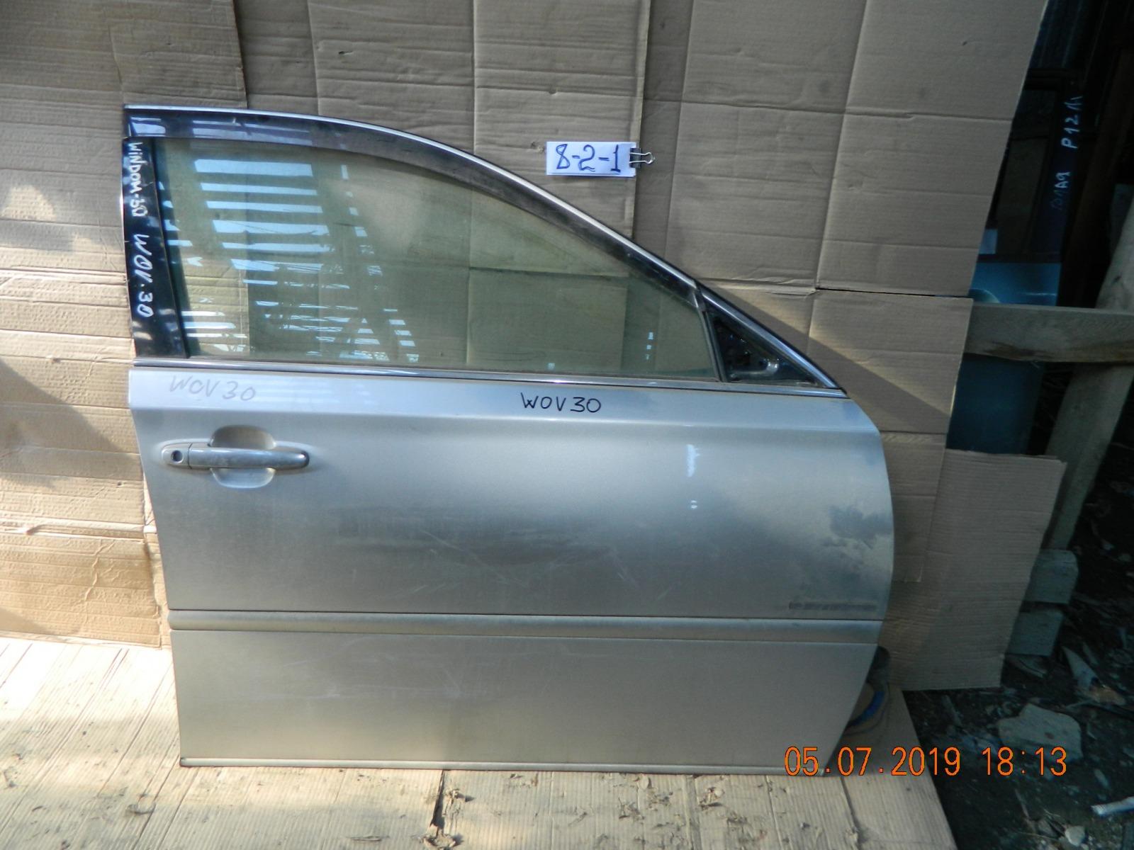 Дверь Toyota Windom MCV30 передняя правая (б/у)