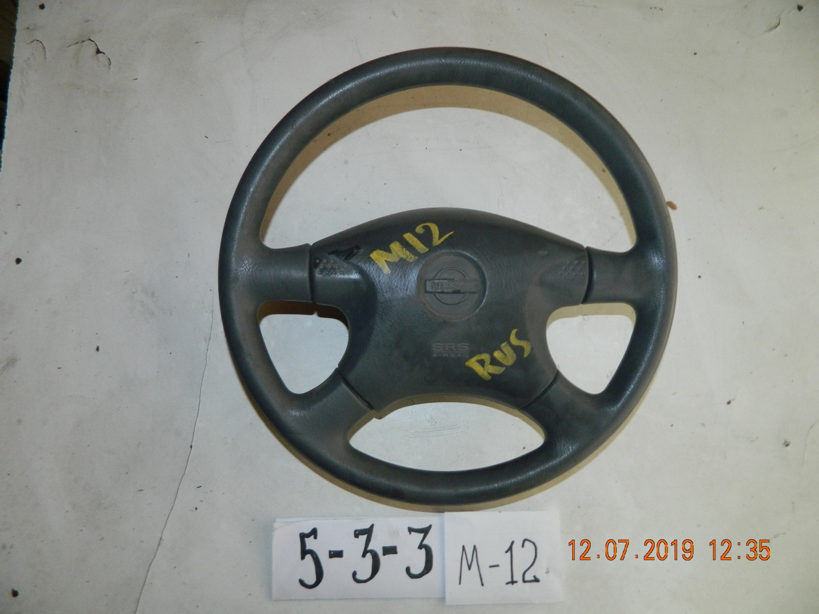 Руль Nissan Liberty M12 (б/у)