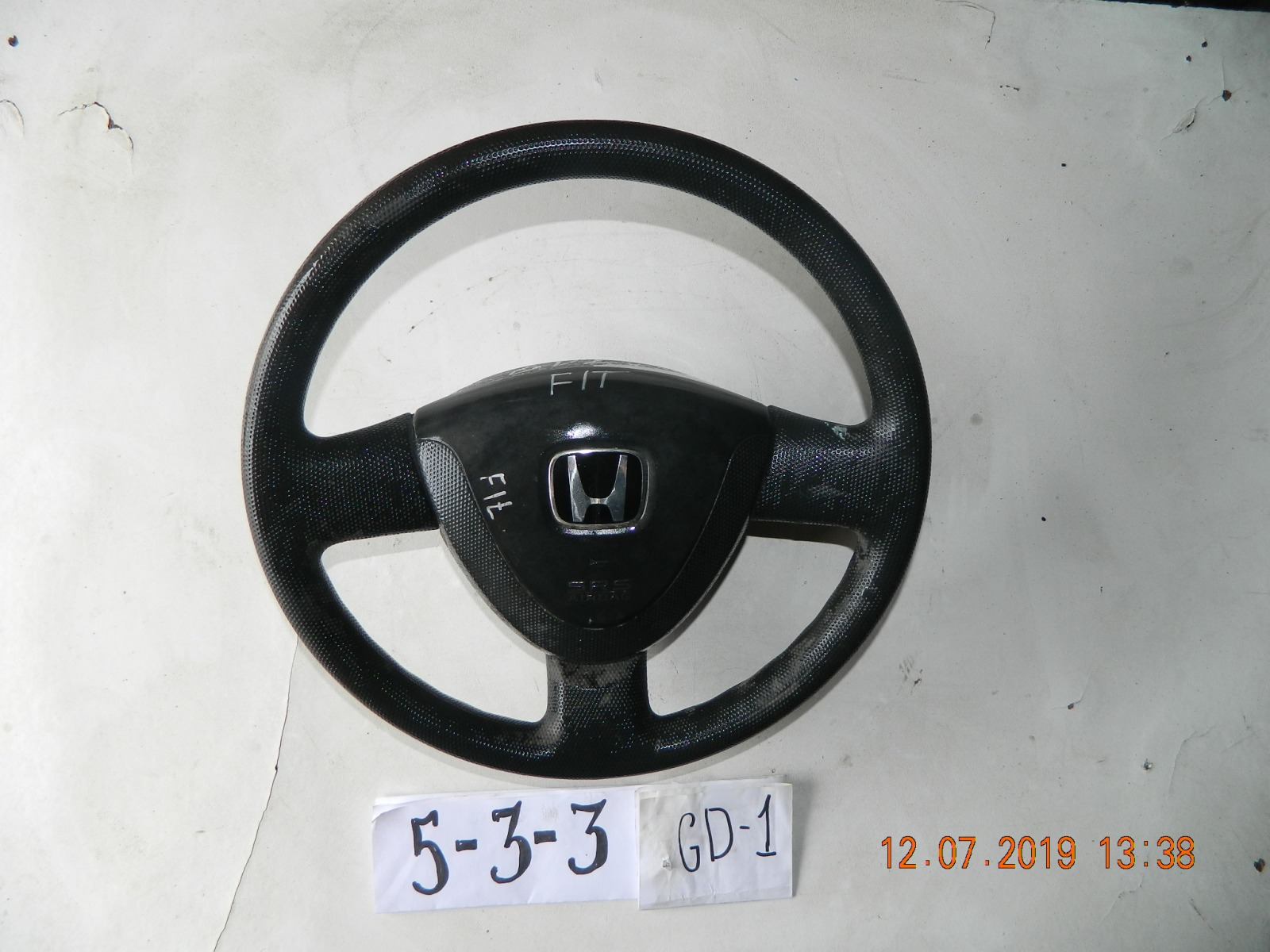 Руль Honda Fit GD1. GD3 (б/у)