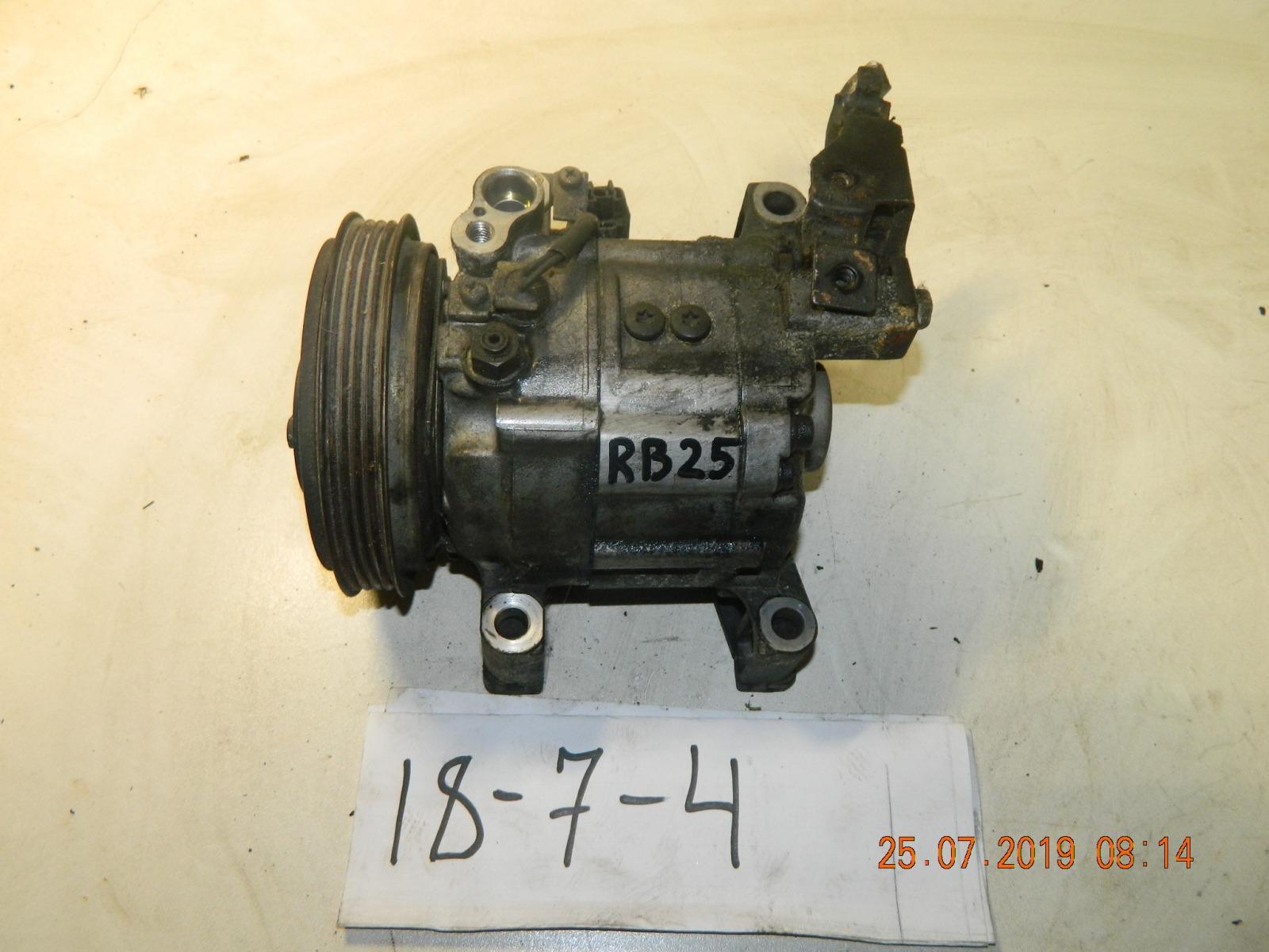 Компрессор кондиционера Nissan Cedric RB25 (б/у)