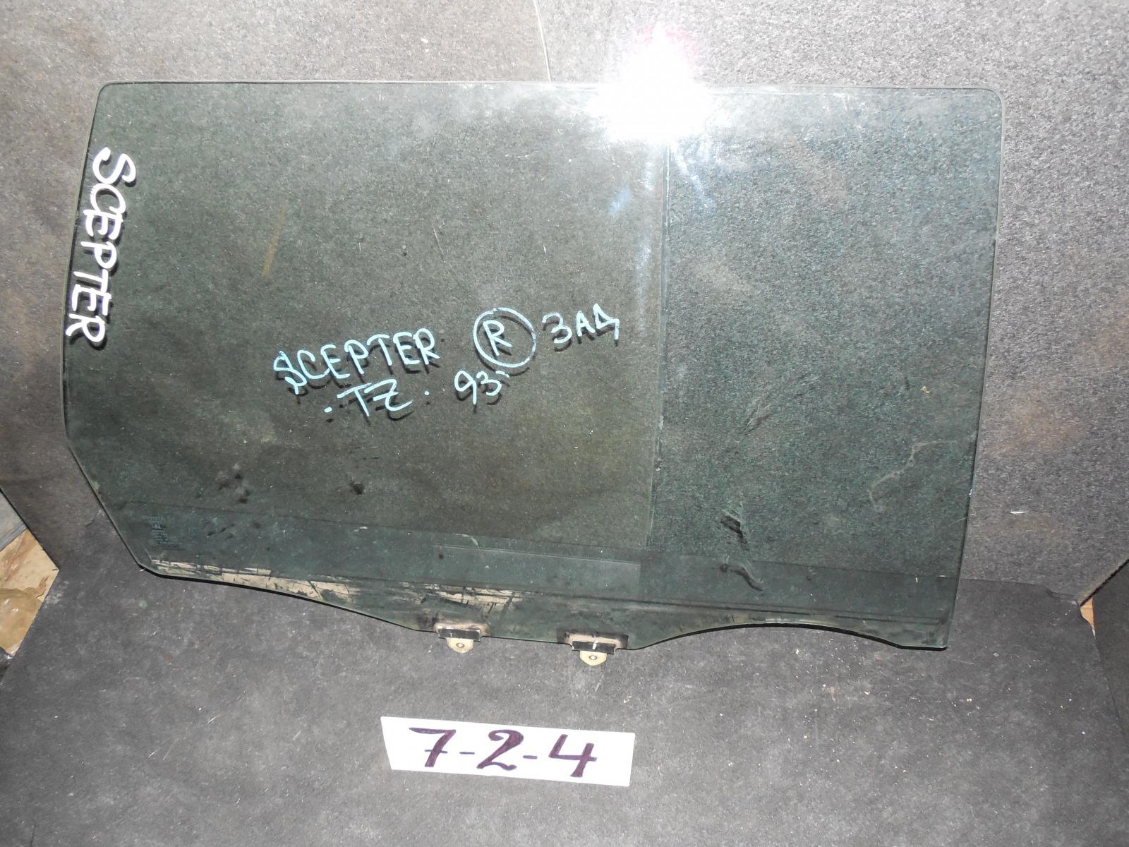 Стекло двери Toyota Scepter заднее правое (б/у)