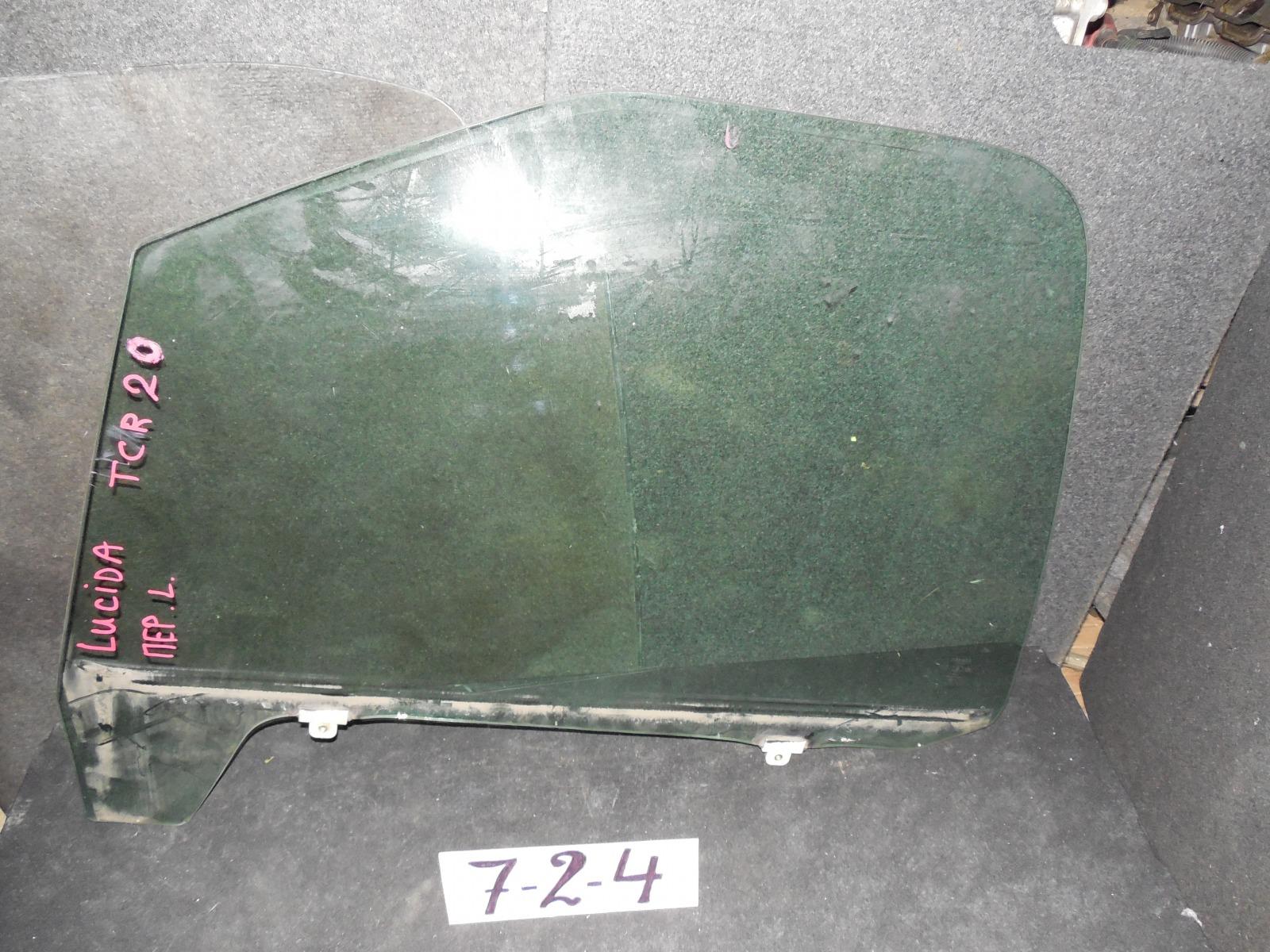 Стекло двери Toyota Estima Lucida CXR20 переднее левое (б/у)