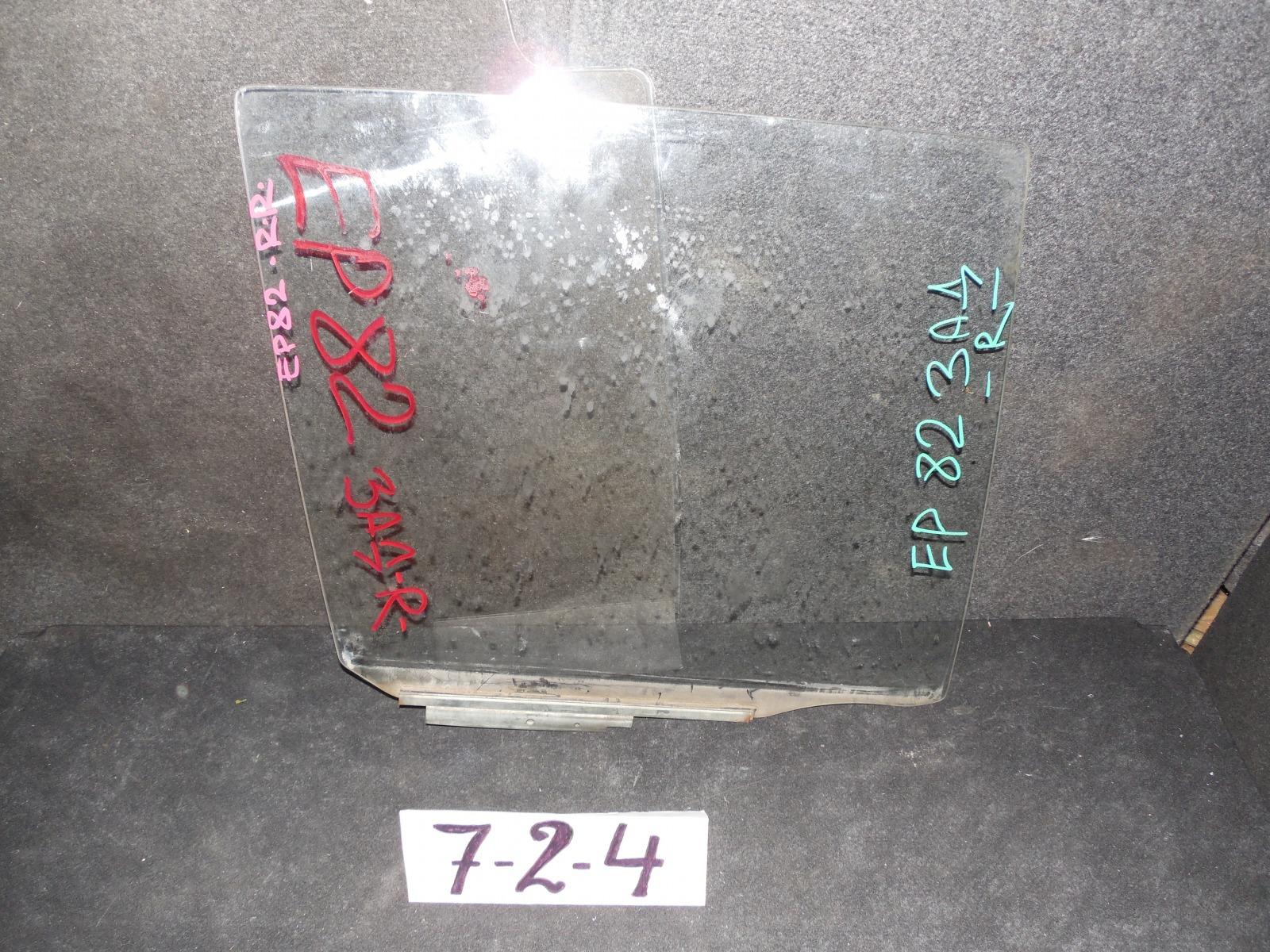 Стекло двери Toyota Starlet EP80 заднее правое (б/у)