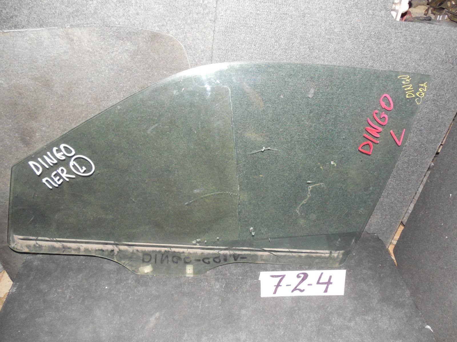 Стекло двери Mitsubishi Mirage Dingo переднее левое (б/у)