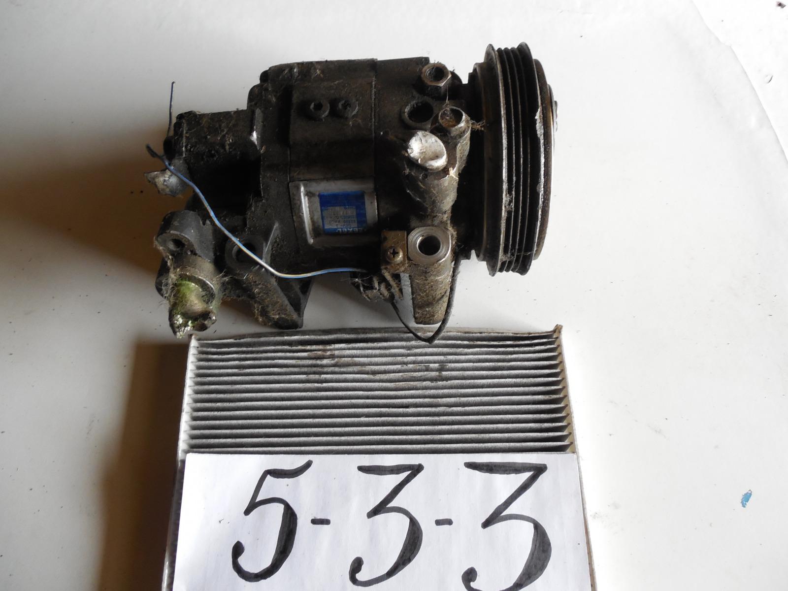Компрессор кондиционера Nissan Laurel C35 RB25DE (б/у)