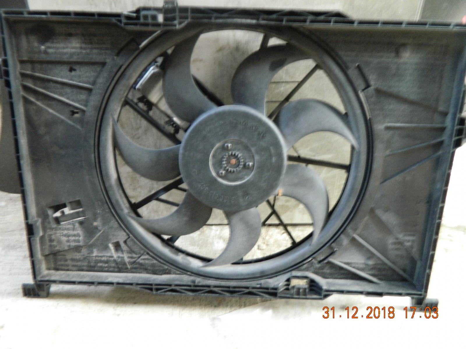 Диффузор радиатора Mercedes-Benz A-Class A169 (б/у)