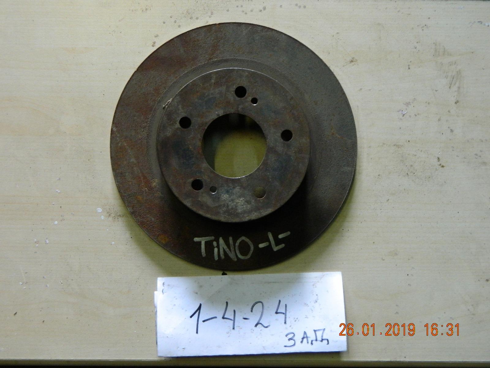 Тормозной диск Nissan Tino V10 задний (б/у)
