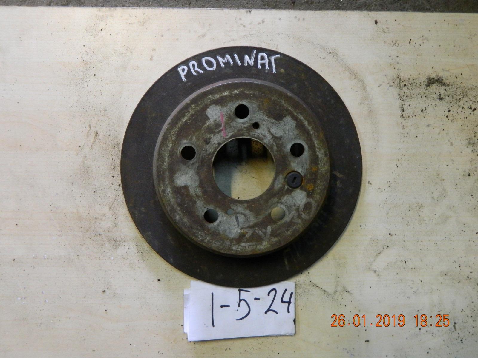 Тормозной диск Toyota Camry Prominent VZV30 задний (б/у)
