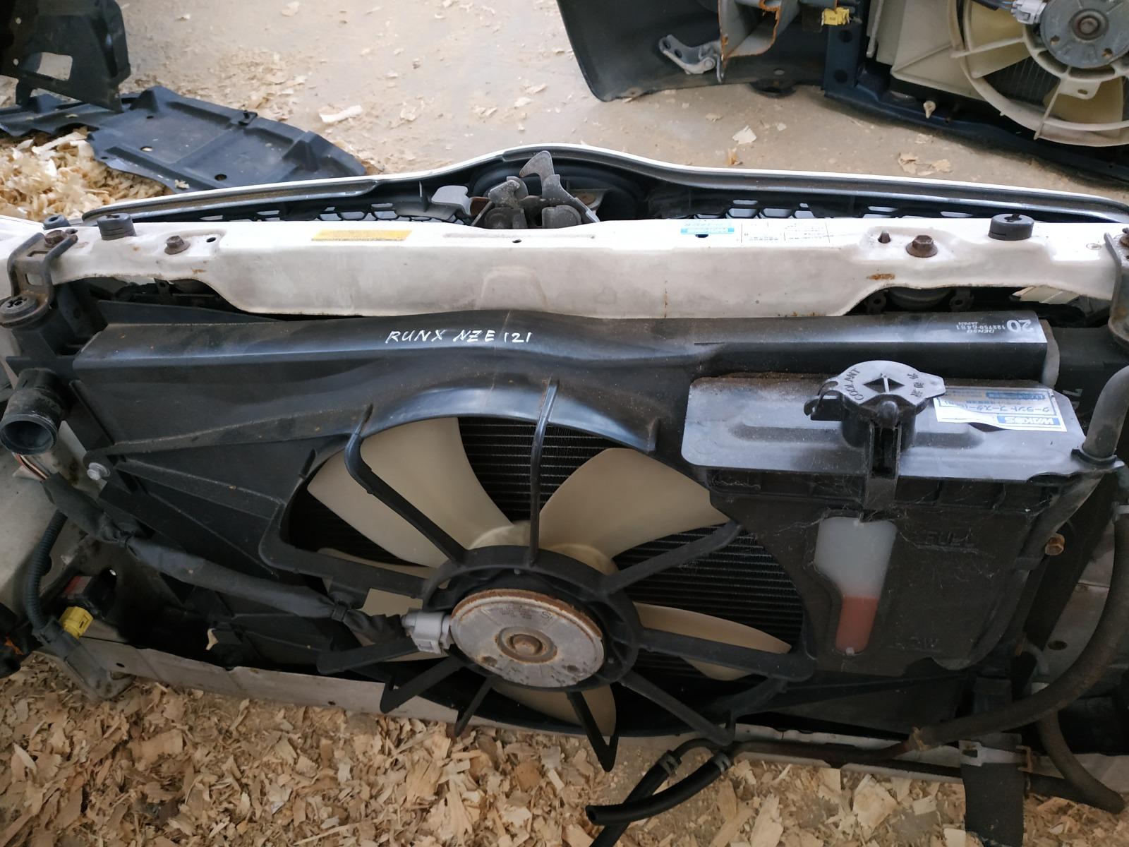 Радиатор двс Toyota Runx NZE121 (б/у)