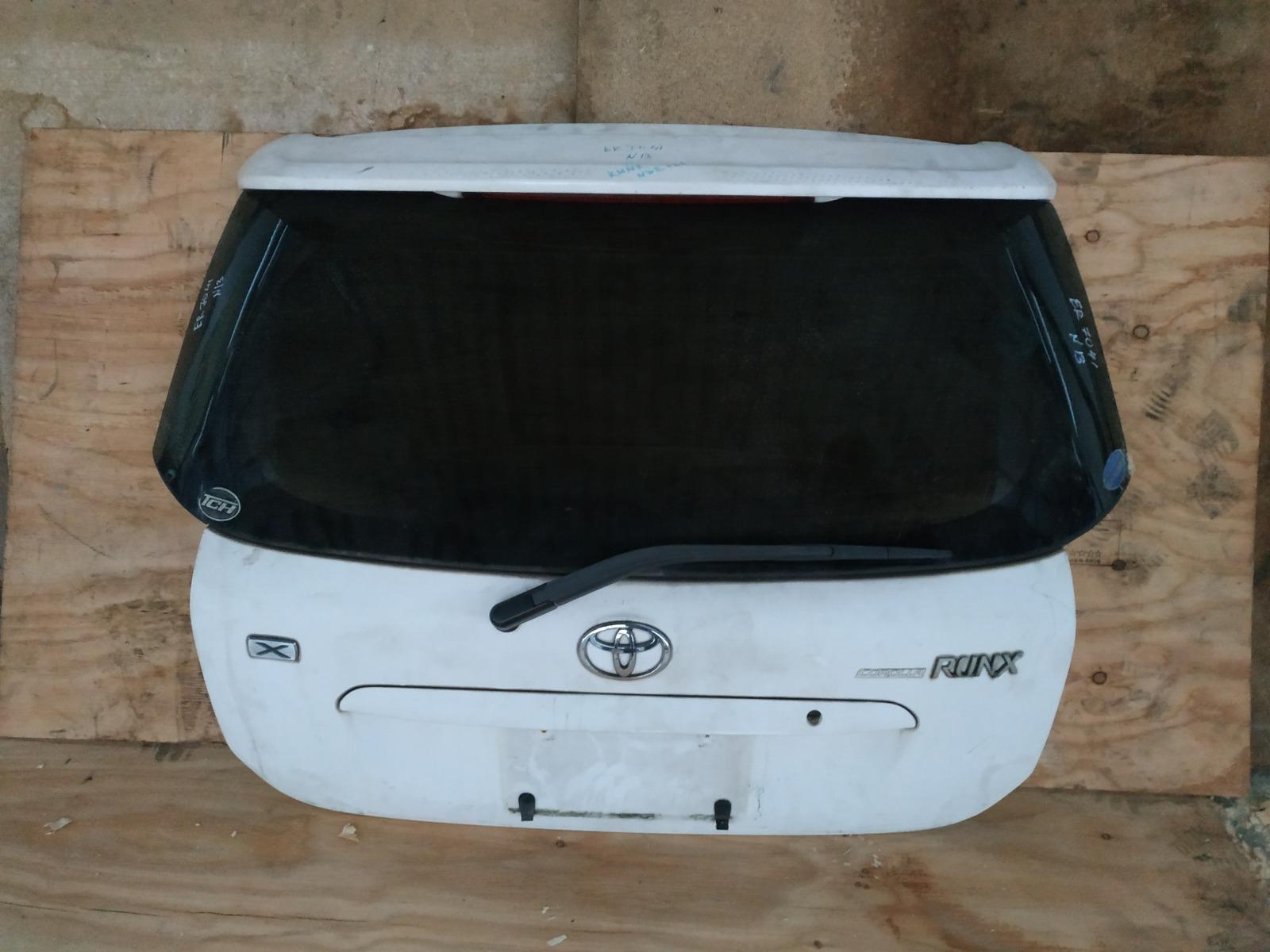 Дверь 5-я Toyota Corolla Runx NZE121 (б/у)