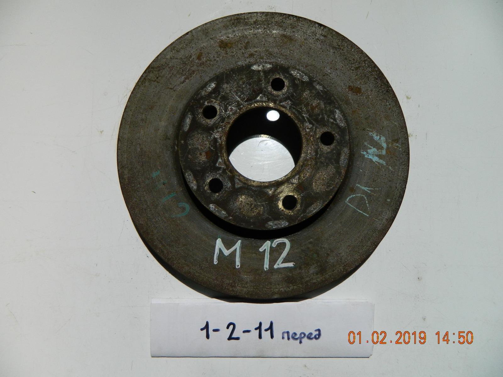 Тормозной диск Nissan Liberty M12 передний (б/у)