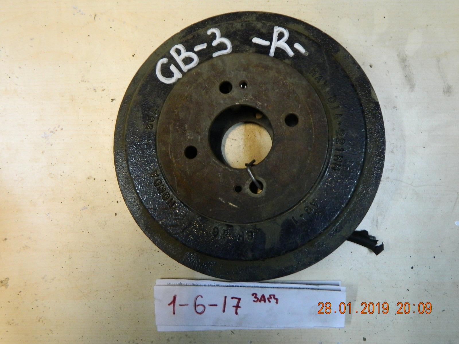 Тормозной барабан Honda Freed GB3 задний (б/у)