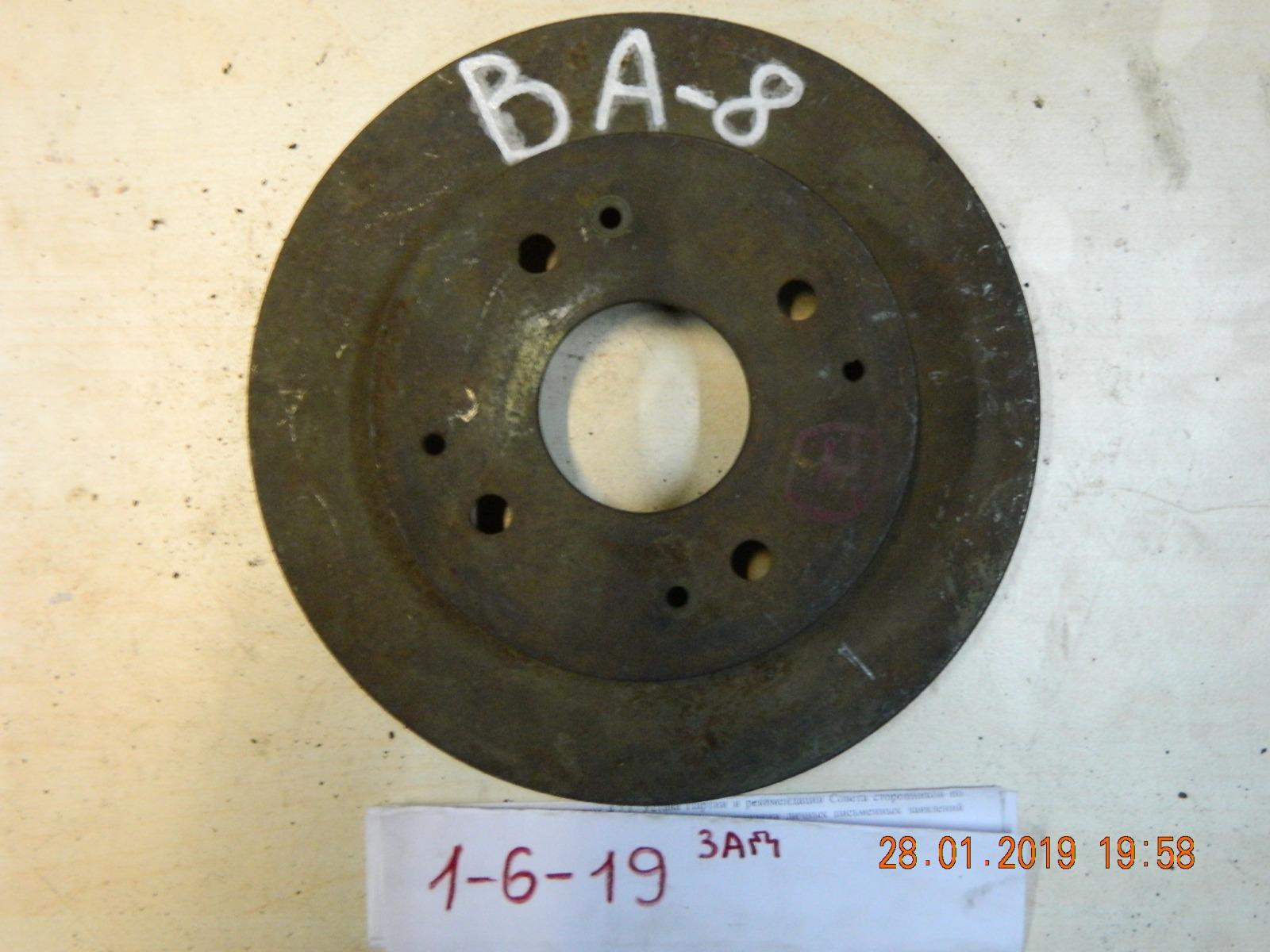 Тормозной диск Honda Prelude BB8 задний (б/у)