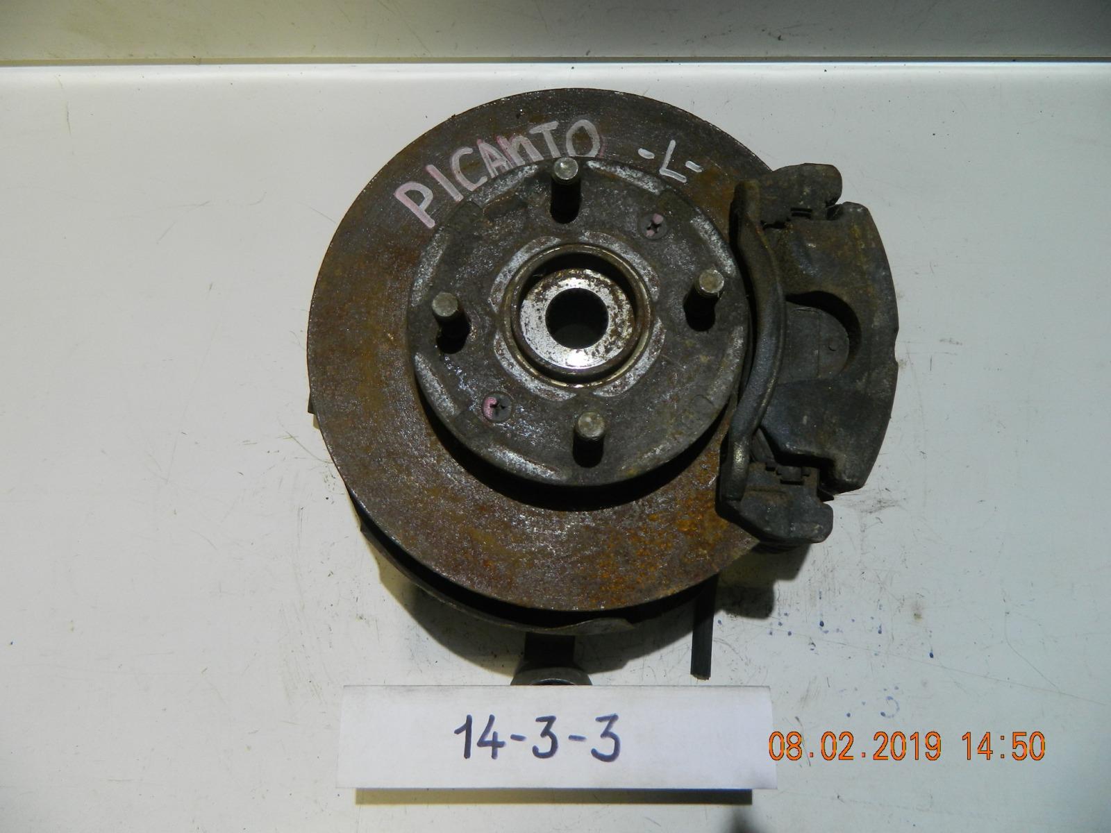 Ступица Kia Picanto передняя левая (б/у)
